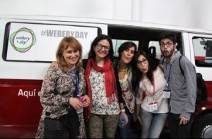 Ana, Cris, Lore, yo y Enrique