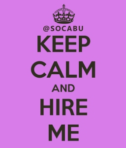 Keep Calm SOCABU